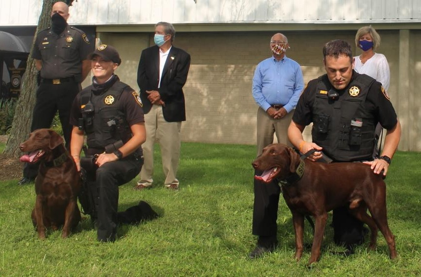 Fierce, Friendly and Fuzzy: Buc & Chief Are The Newest Members of Talbot County's K9 Squad