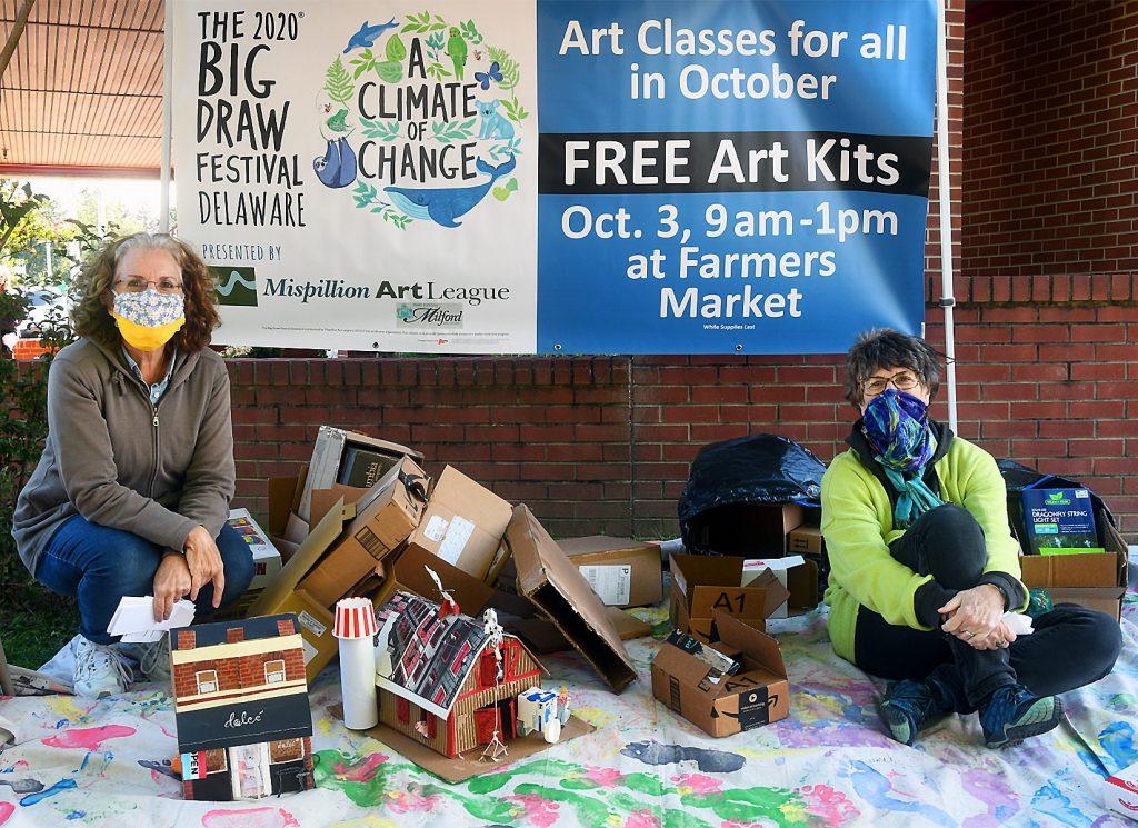 "Mispillion Art League Dedicates October to ""The Big Draw Festival Delaware"""