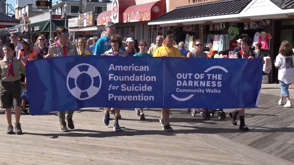 """Out of The Darkness Walk"" Bringing Awareness To Suicide"
