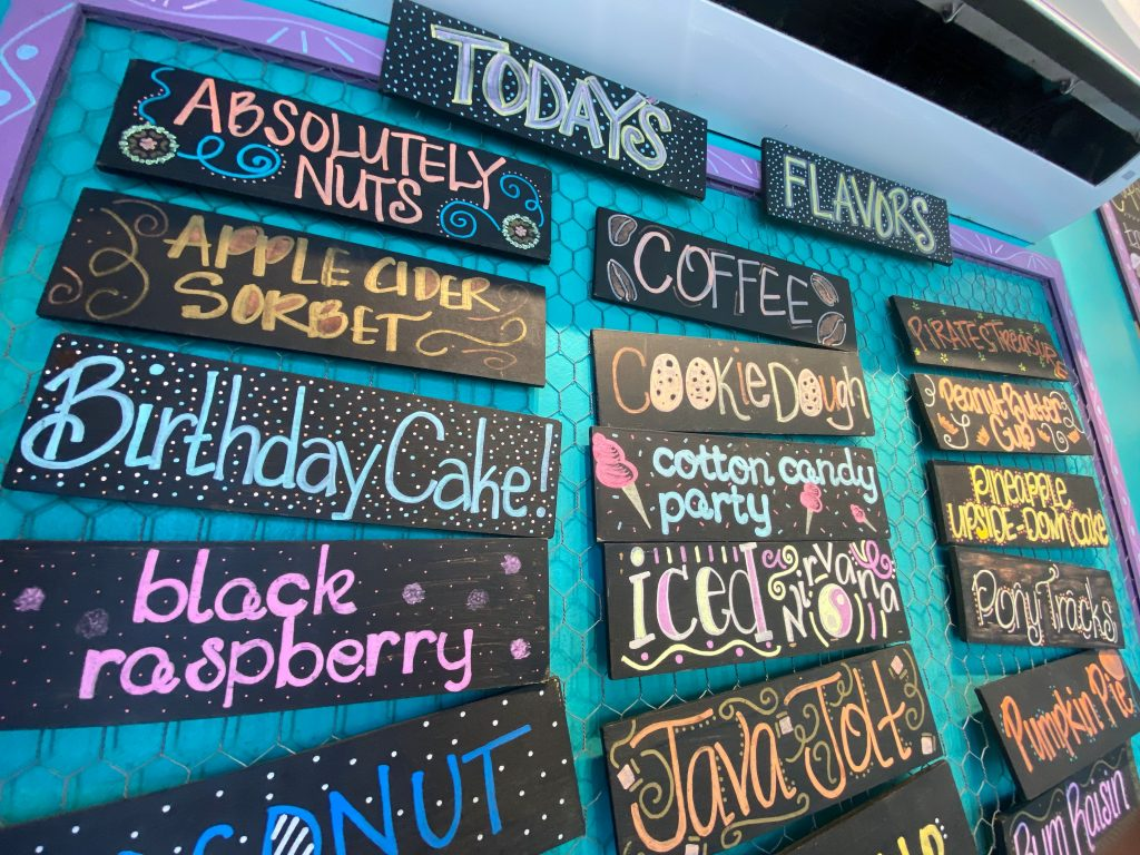 Island Creamery's New Fall Flavors: PB&J, Apple Cider and Pumpkin Pie
