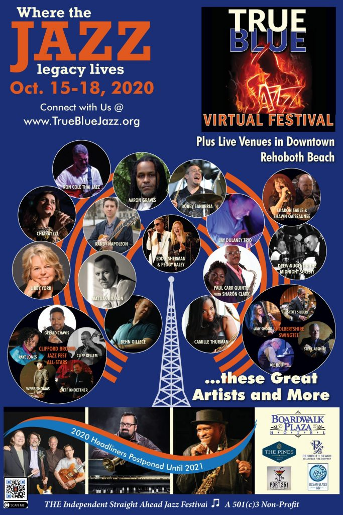 True Blue Jazz Festival Goes Virtual