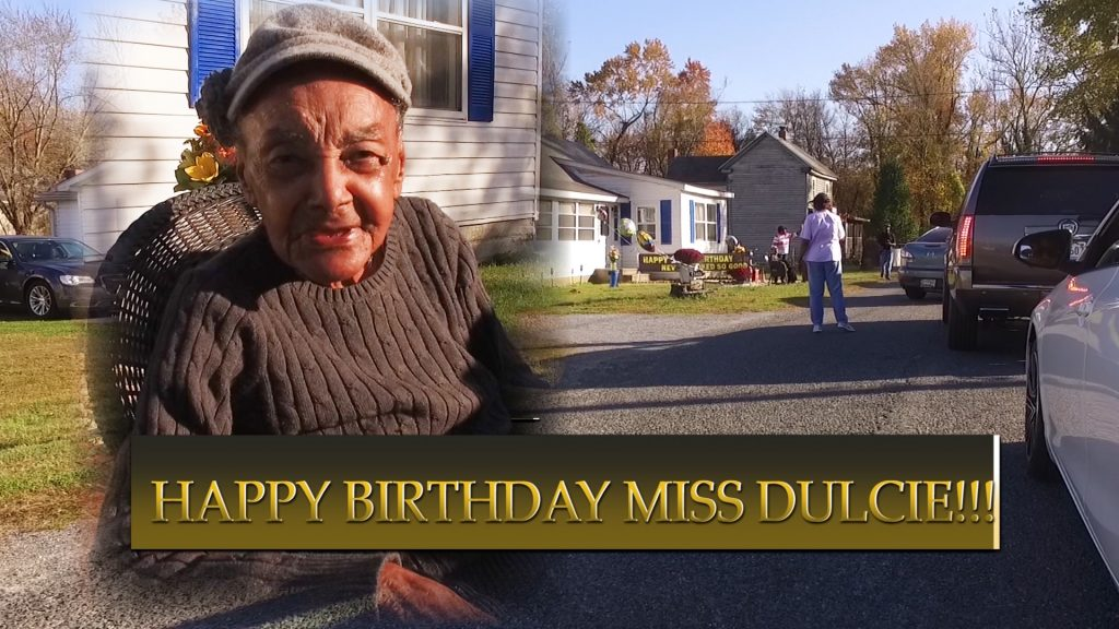 Travels With Charlie: Miss Dulcie's 100th Birthday