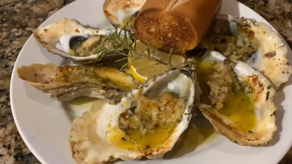 Paul Suplee of Boxcar On Main Makes Garlic Roasted Oysters & Baked Brie