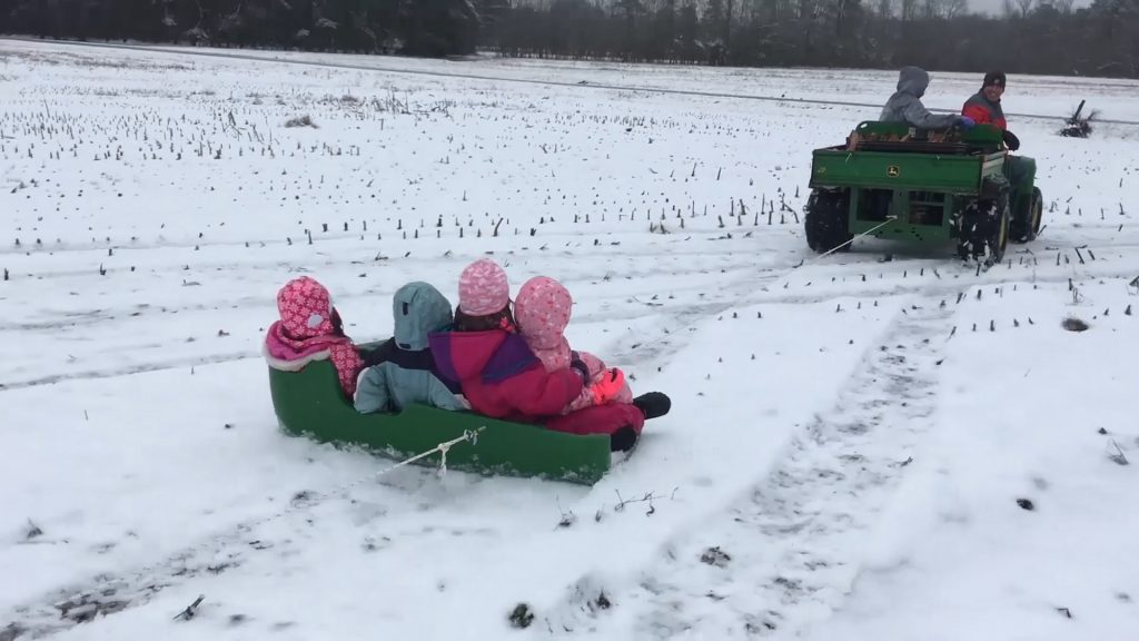 Travels With Charlie: Holland Family Sleigh