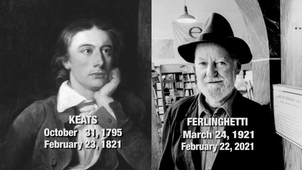Travels With Charlie: Keats & Ferlinghetti