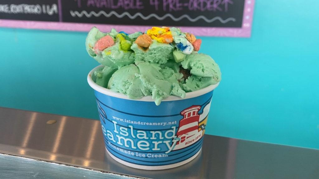 Island Creamery – Spring Flavors