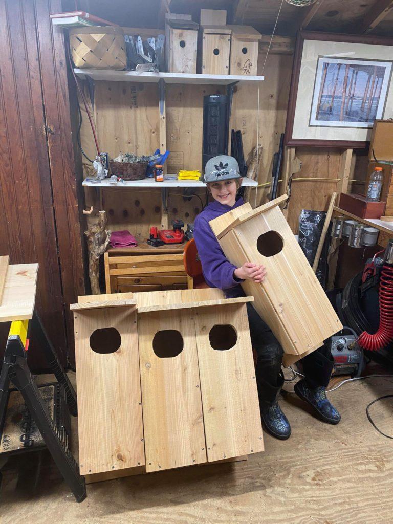 Duck Boxes – Ewan Betz