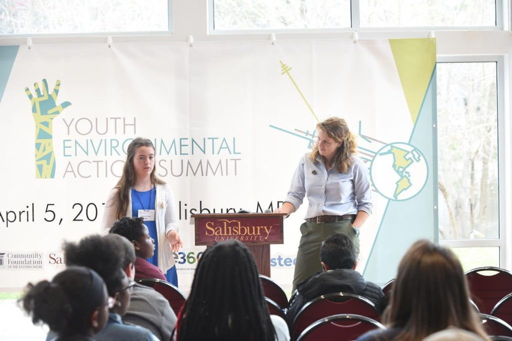 The Lower Eastern Shore of Maryland's Youth Environmental Action Summit