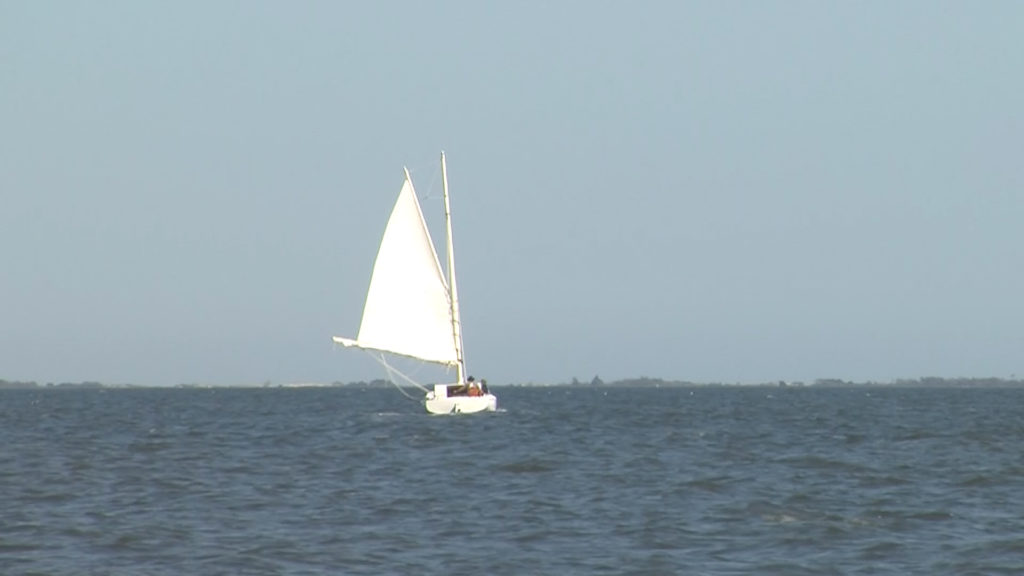 Travels With Charlie: Sailboat in the Chincoteague Bay
