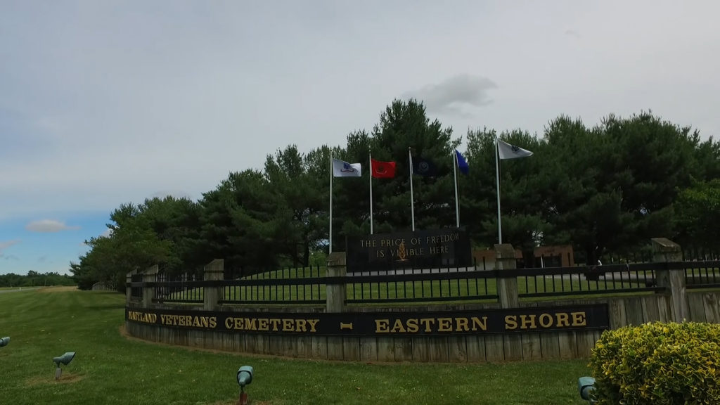 Travels With Charlie: Eastern Shore Veterans Cemetery
