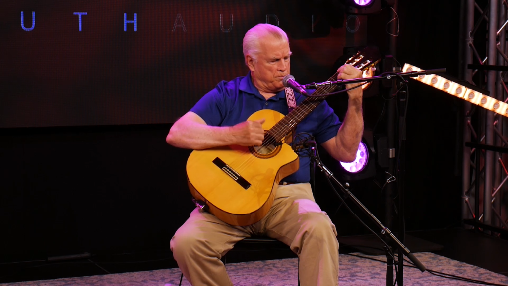 Jack Wright Performs at the Mid-South Audio Stage