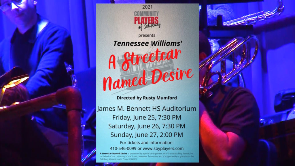 Travels With Charlie: Community Players Perform 'A Streetcar Named Desire'