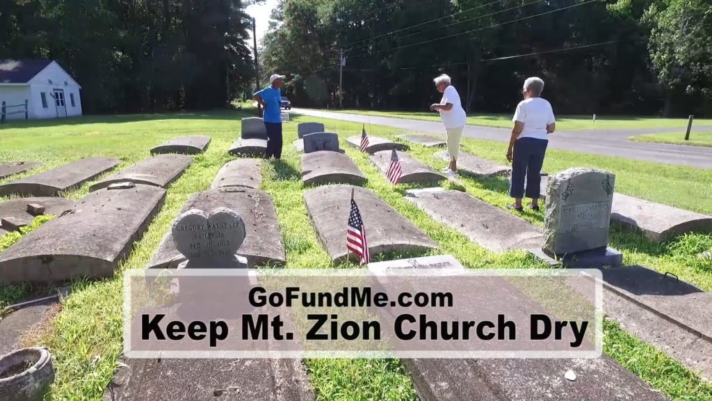 Travels With Charlie: Keep Mt. Zion Church Dry