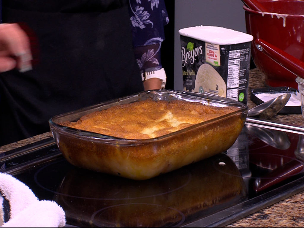 Peach Cobbler With Scratch Manager Chef Janet Ford