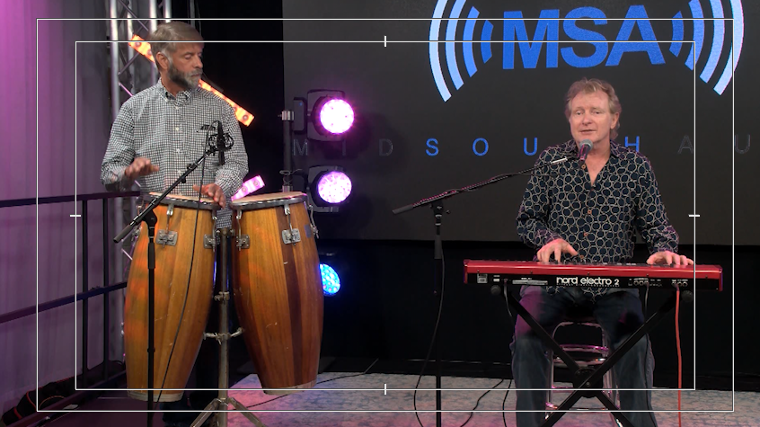 Ed Shockley Performs From the Mid South Audio Stage in Milton
