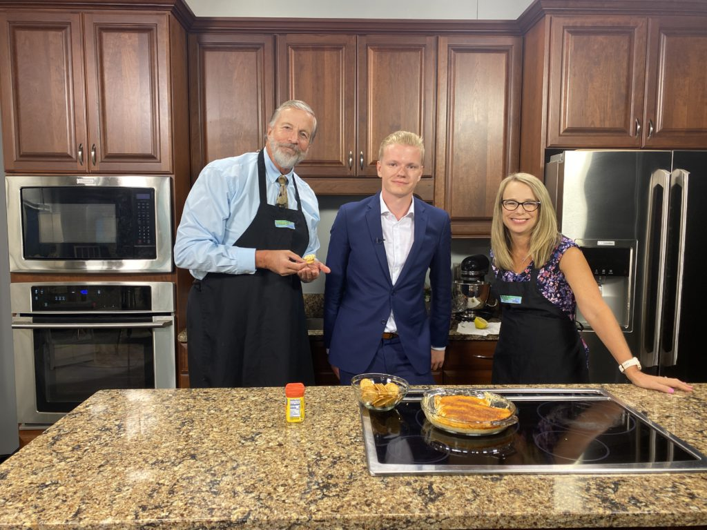 We Get to Know WBOC's Hunter Landon Over His Homemade Crab Dip