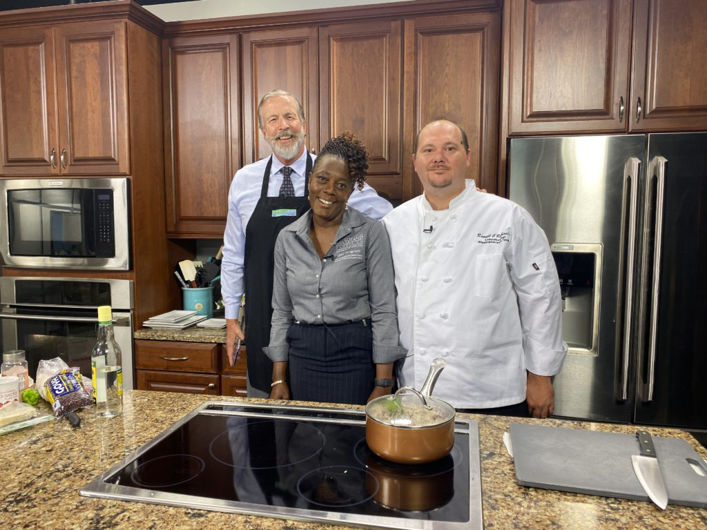 Dr. Nadine Burton & Chef Russell Robbins Make us Authentic Jamaican Dishes