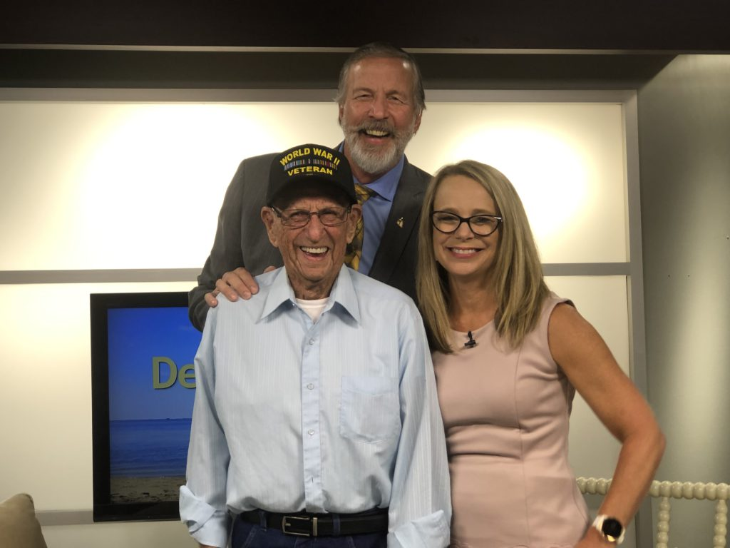 We Talk To Ernest Marvel of Frankford, A 97 Year Old World War II Veteran