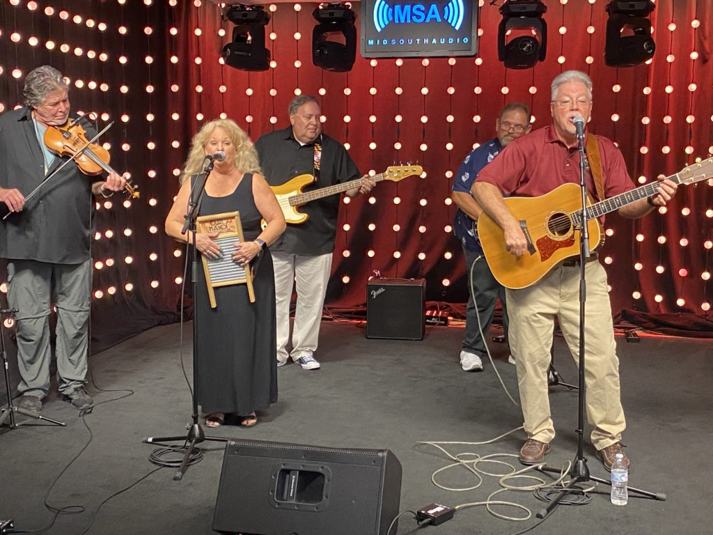 Stevenson's Cross Roads Performs on the Mid-South Audio Stage