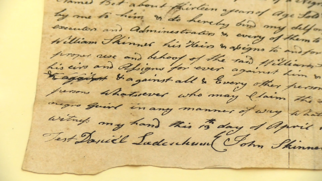 We Get an Inside Look At Recently Discovered Two-hundred Year-Old Documents