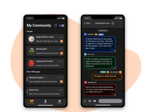 The Marigold App Is Helping Support People While They Overcome Their Addiction