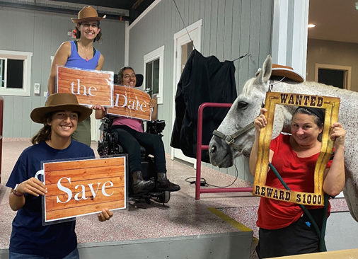 Southern Delaware Therapeutic Riding Holding a Barn Dance