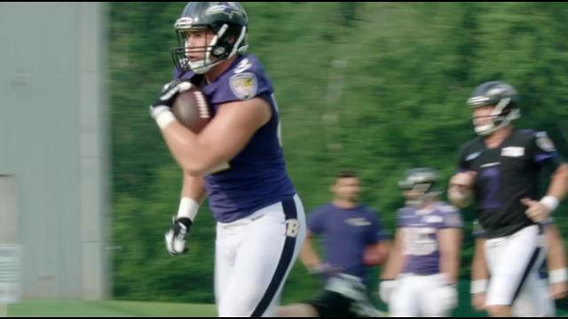 Ravens Rookie TE Nick Boyle Impressing