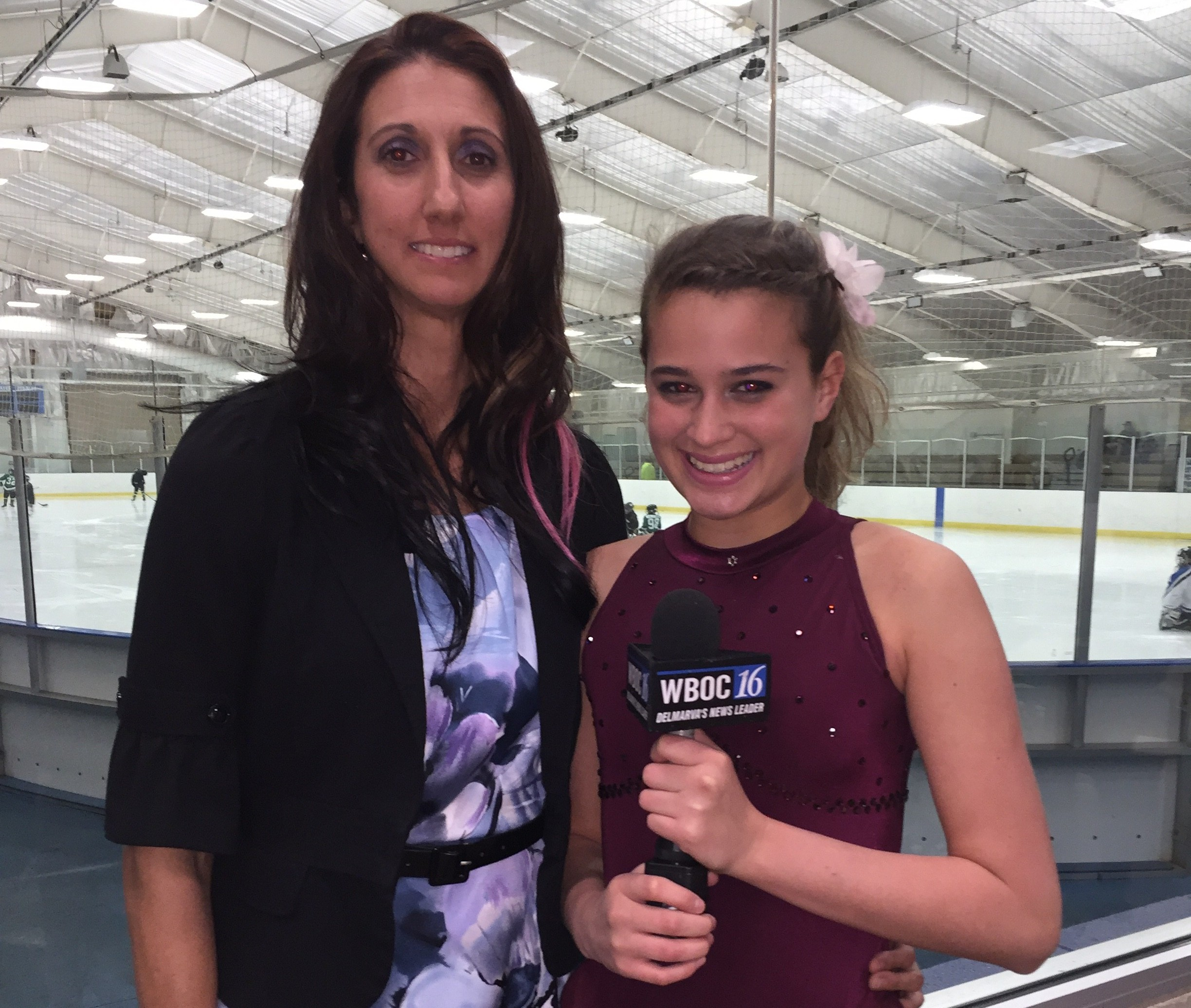 Millsboro Figure Skater with Olympic Dreams