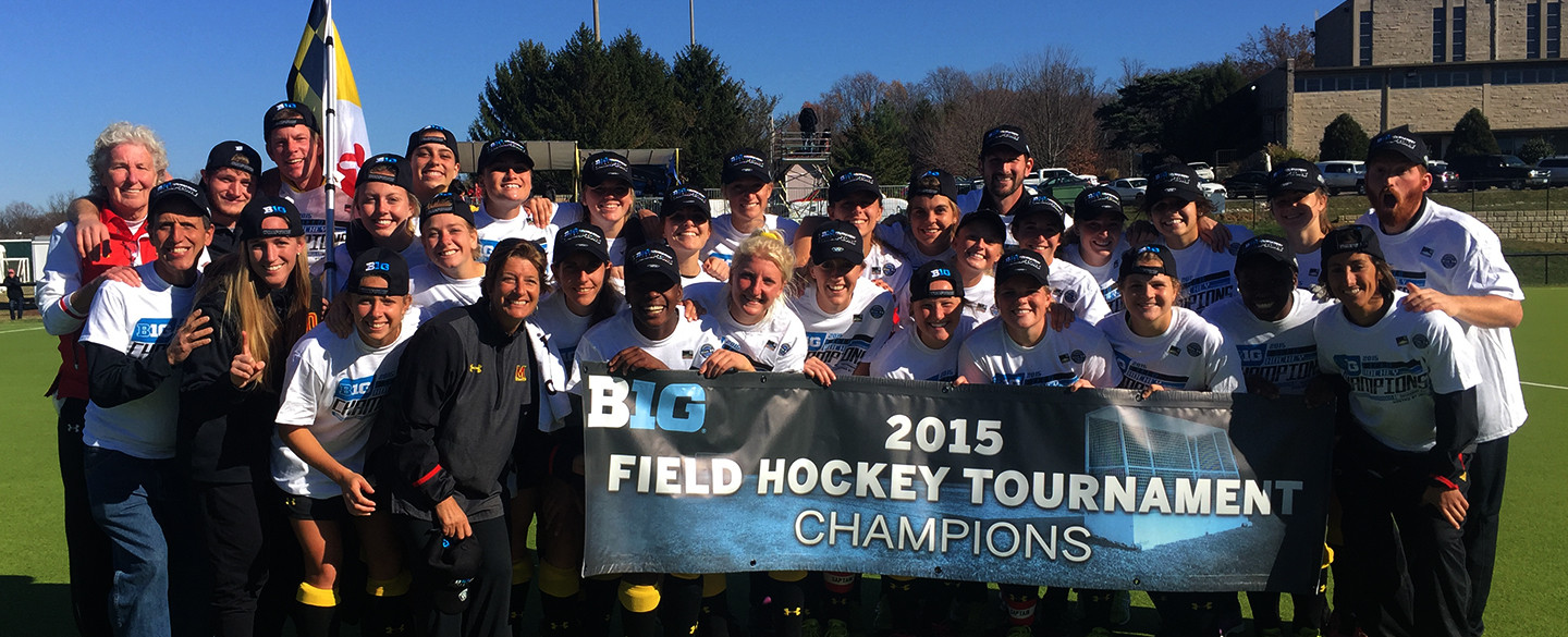 Maryland Field Hockey Wins Big Ten Championship