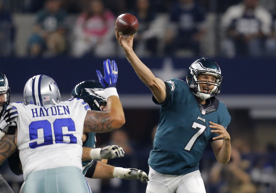 Eagles OT Win Over Dallas Evens Record at 4-4