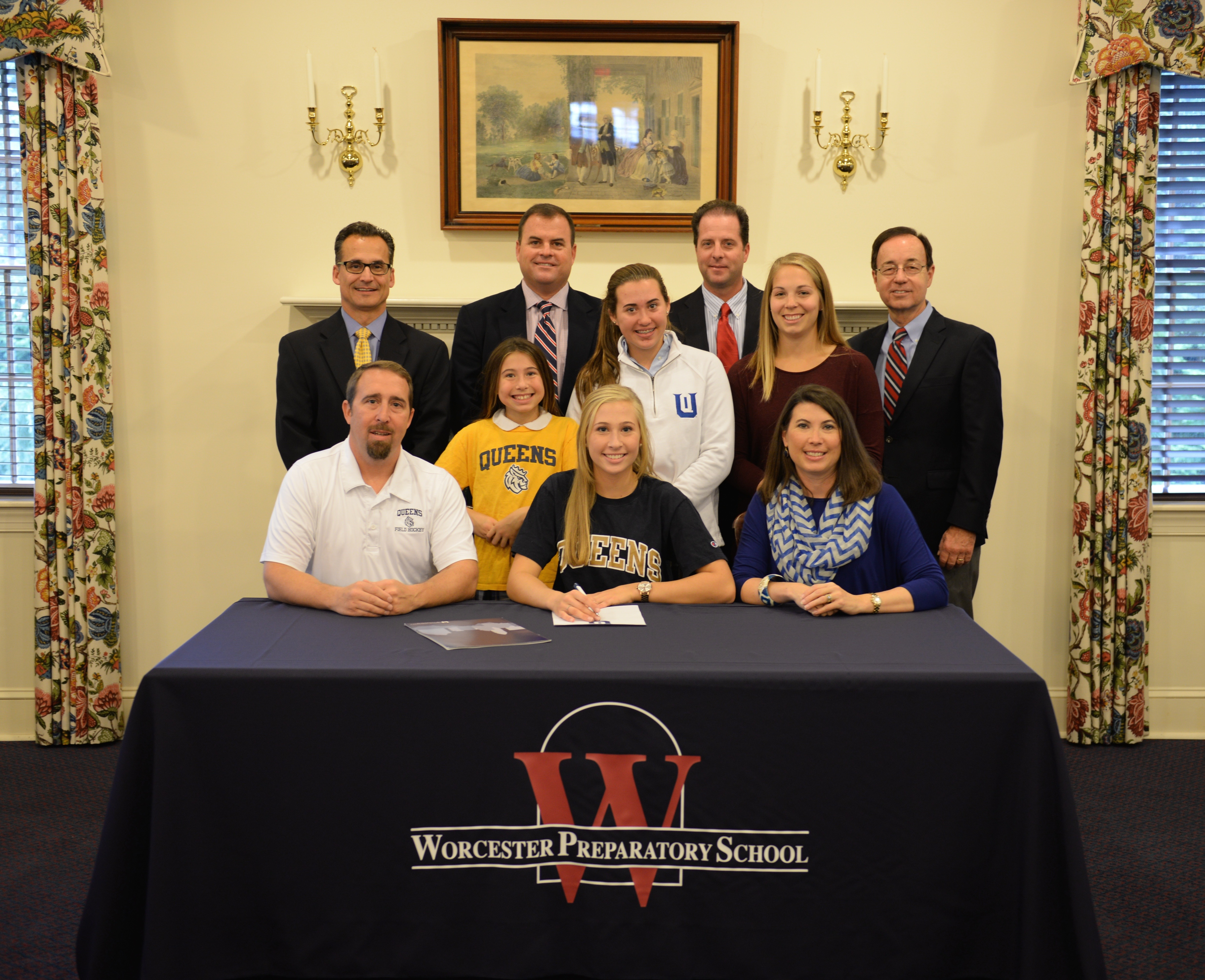 Nechay, Dickerson Sign Letters of Intent