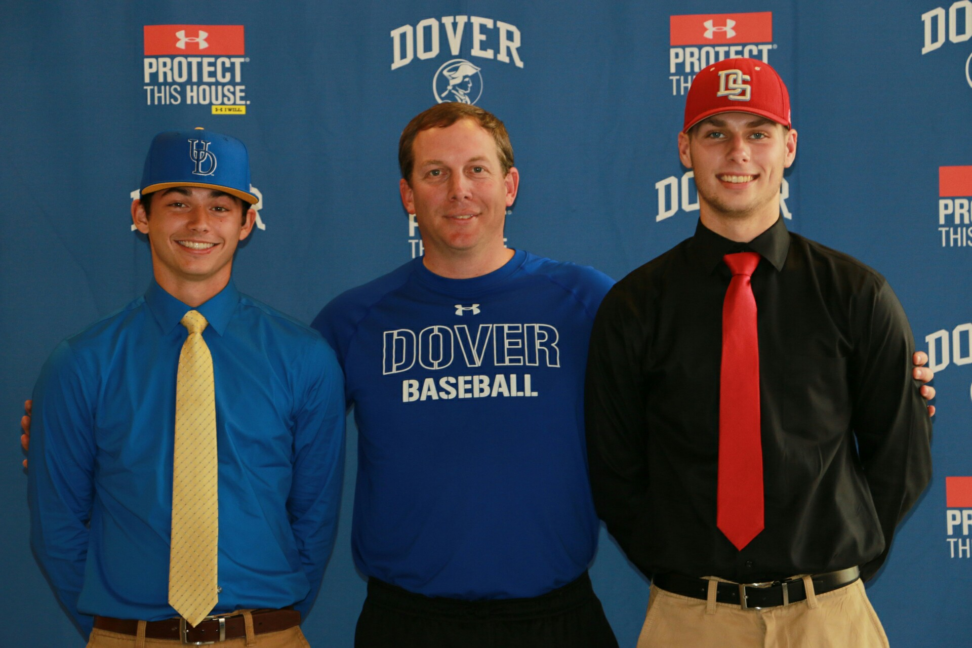 Dover Baseball Sends Two to College