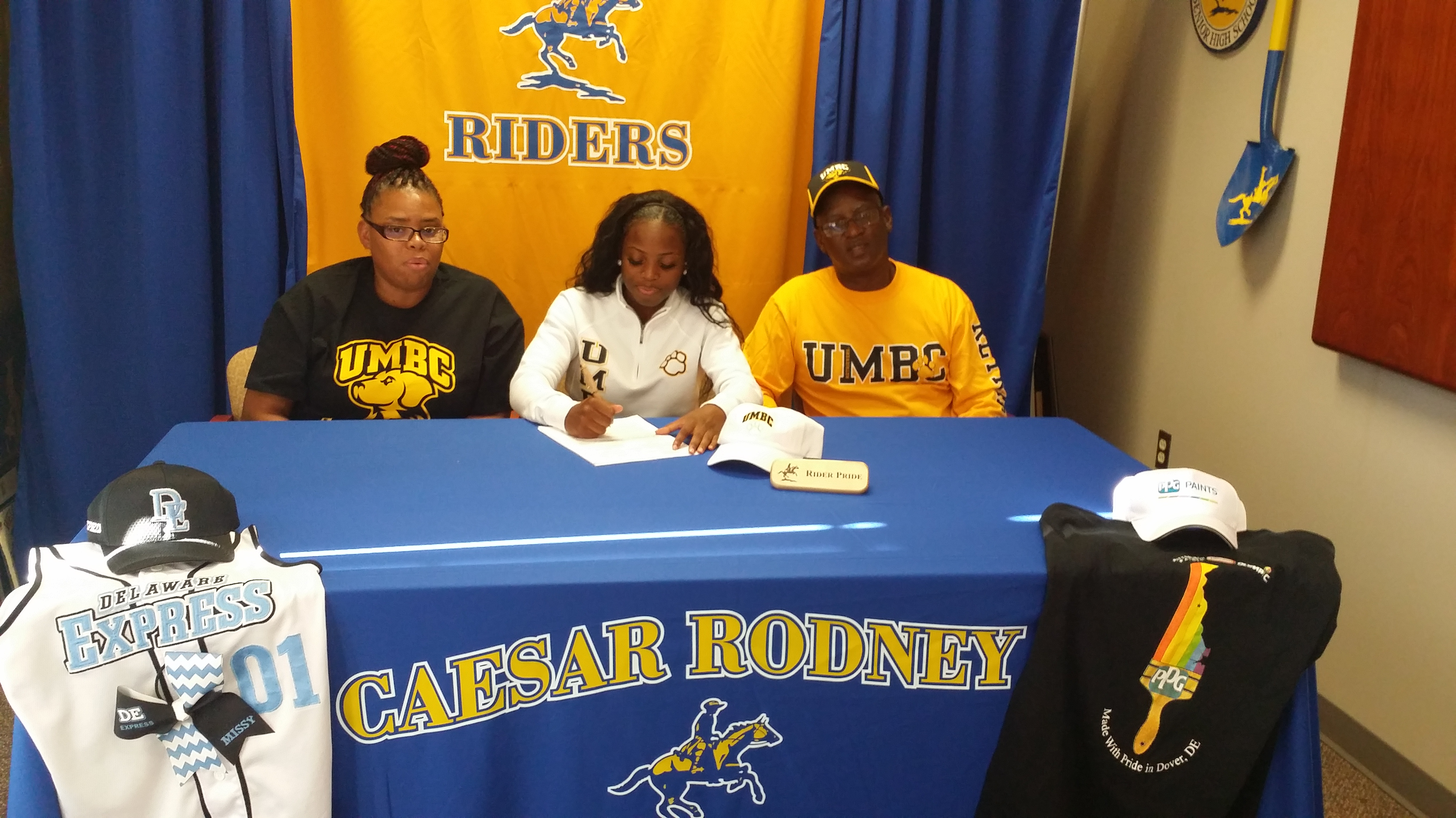 All-Henlopen Conference's Burton To Play Softball At UMBC