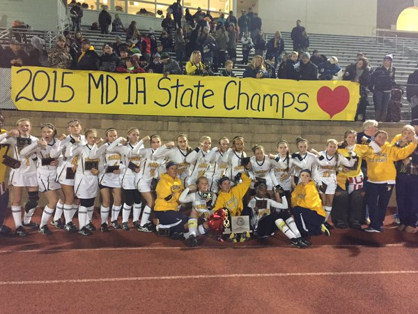Pusey Strong Forever; Pocomoke Field Hockey Wins 1A State Championship