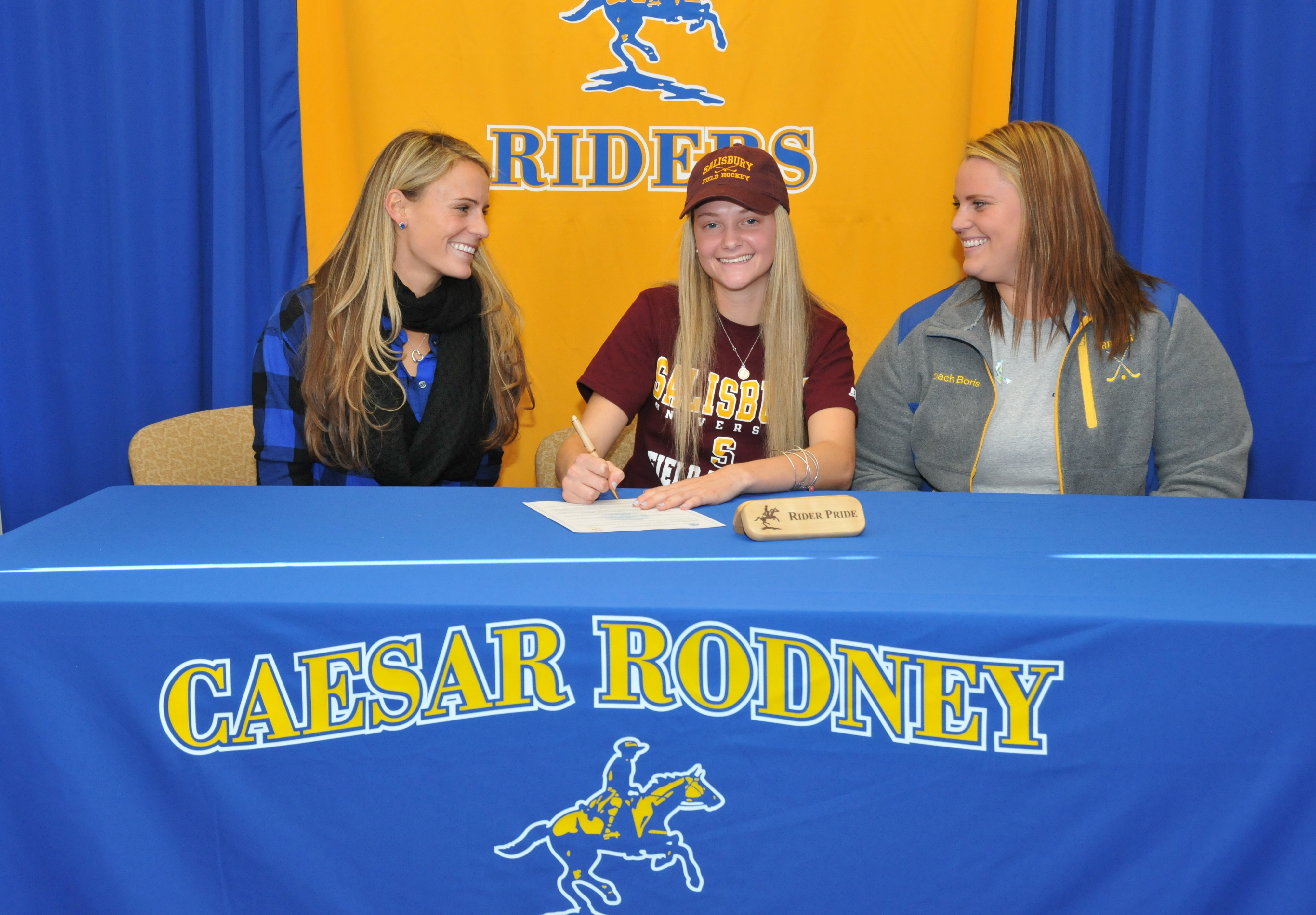 Joining the Sea Gulls; Tara Daddio signs with Salisbury