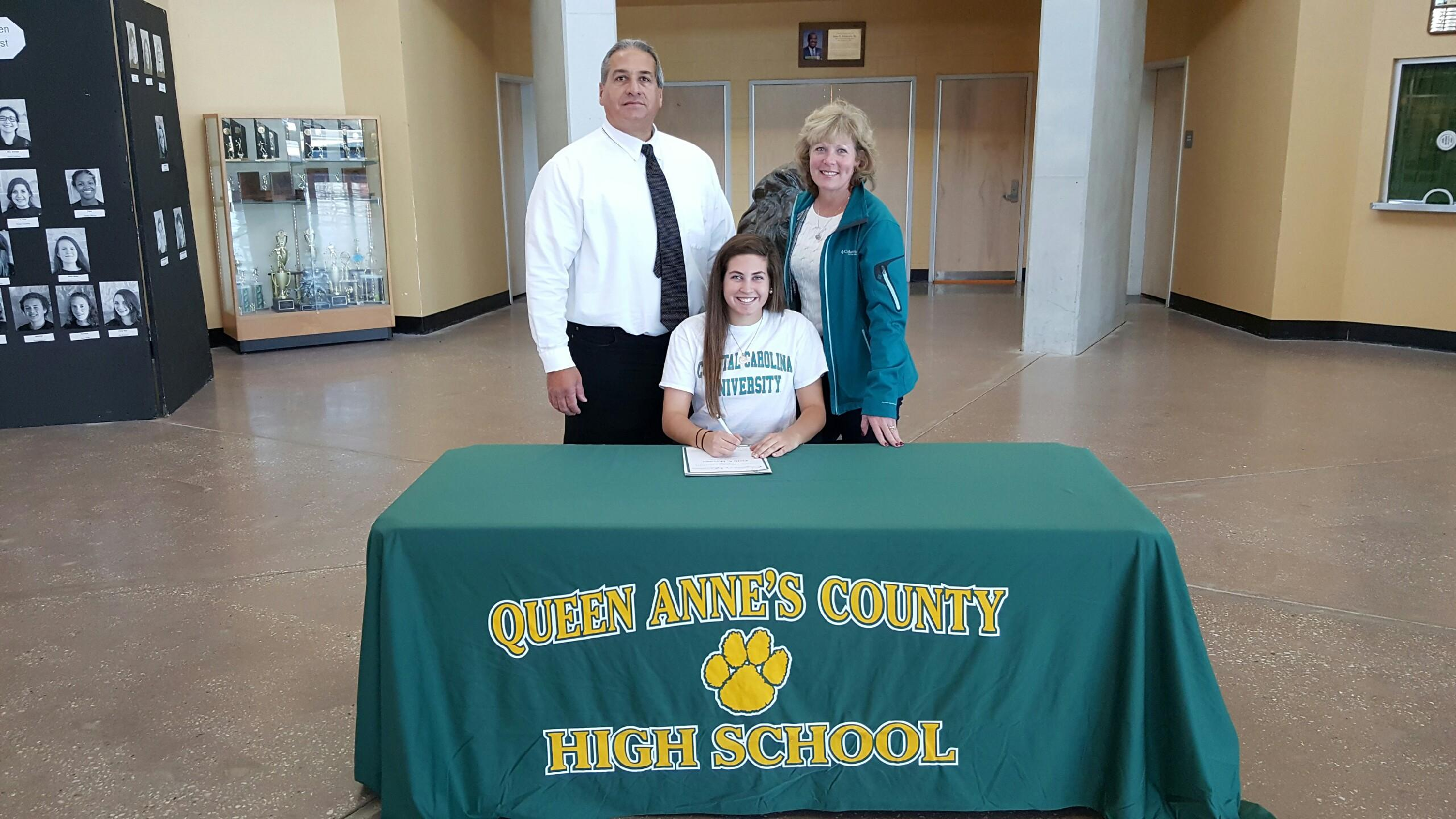 Fear the Chanticleer; Emily D'Orsaneo Signs with Coastal Carolina