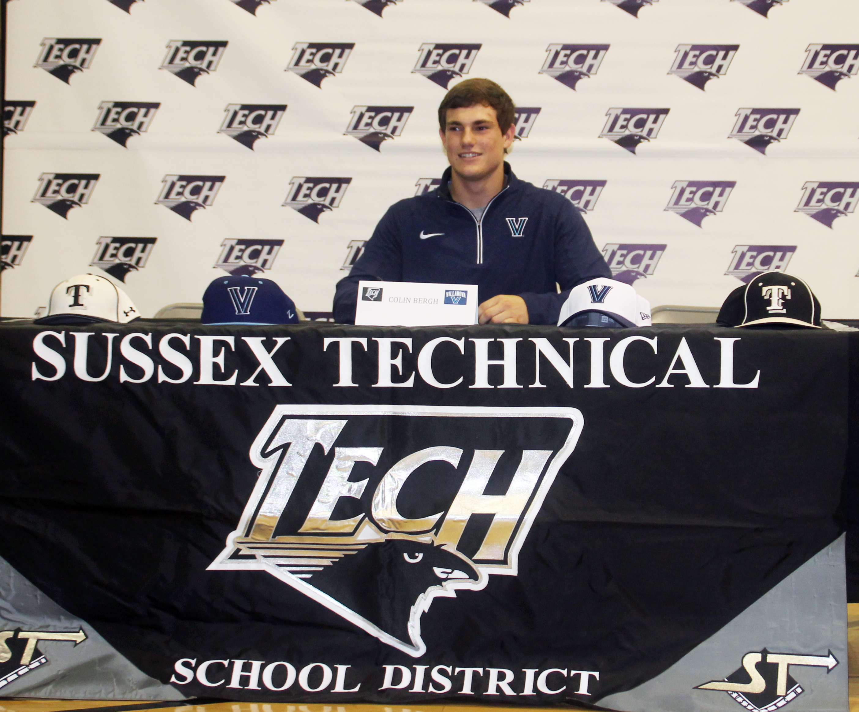 Ravens Take Flight; Sussex Tech Holds Signing Day Event