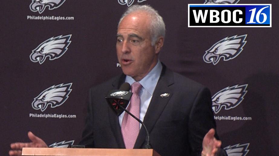 Eagles Owner Jeffrey Lurie on Releasing Chip Kelly
