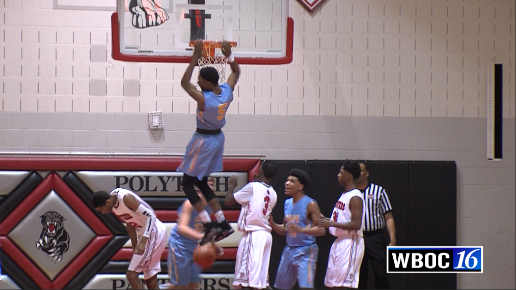 Dunk of the Week: Cape Henlopen's Randy Rickards