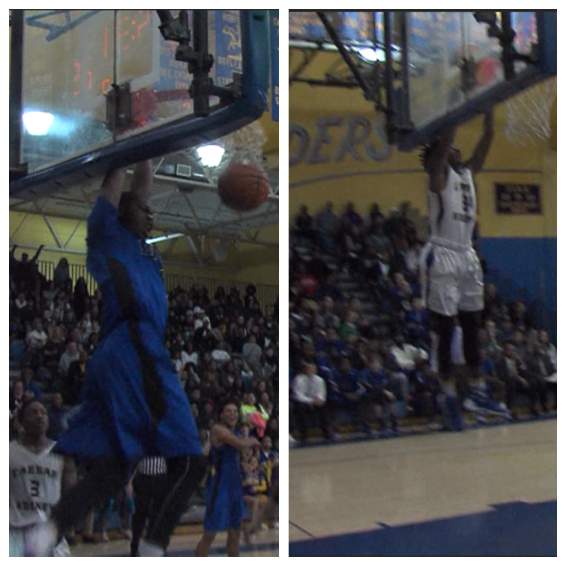VOTE! Dunk of the Week: Caesar Rodney's Jayvon Palmer vs Dover's Terrence Woodlin