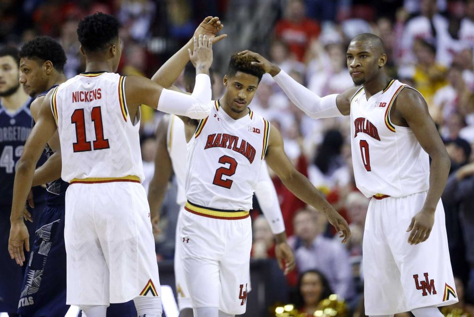 Terps Face Challenging Road To Sweet 16