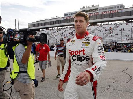 Carl Edwards Takes Pole At Texas Motor Speedway