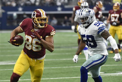 Redskins Jordan Reed Signs Contract Extension