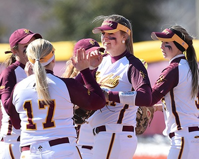 Sea Gulls Softball Falls Below .500 vs. Lynchburg