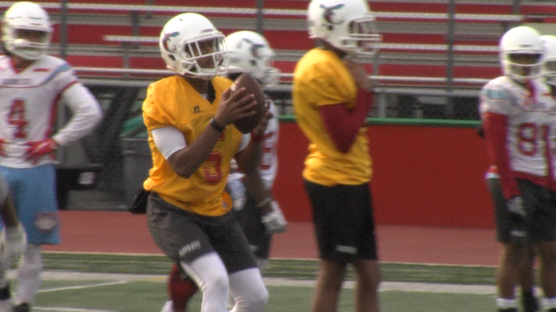 Delaware State Football Wraps Spring Drills On Saturday