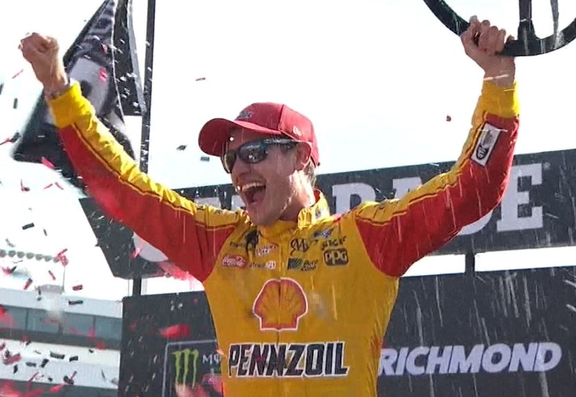 Logano's Richmond Win Will Not Count Toward The Playoffs