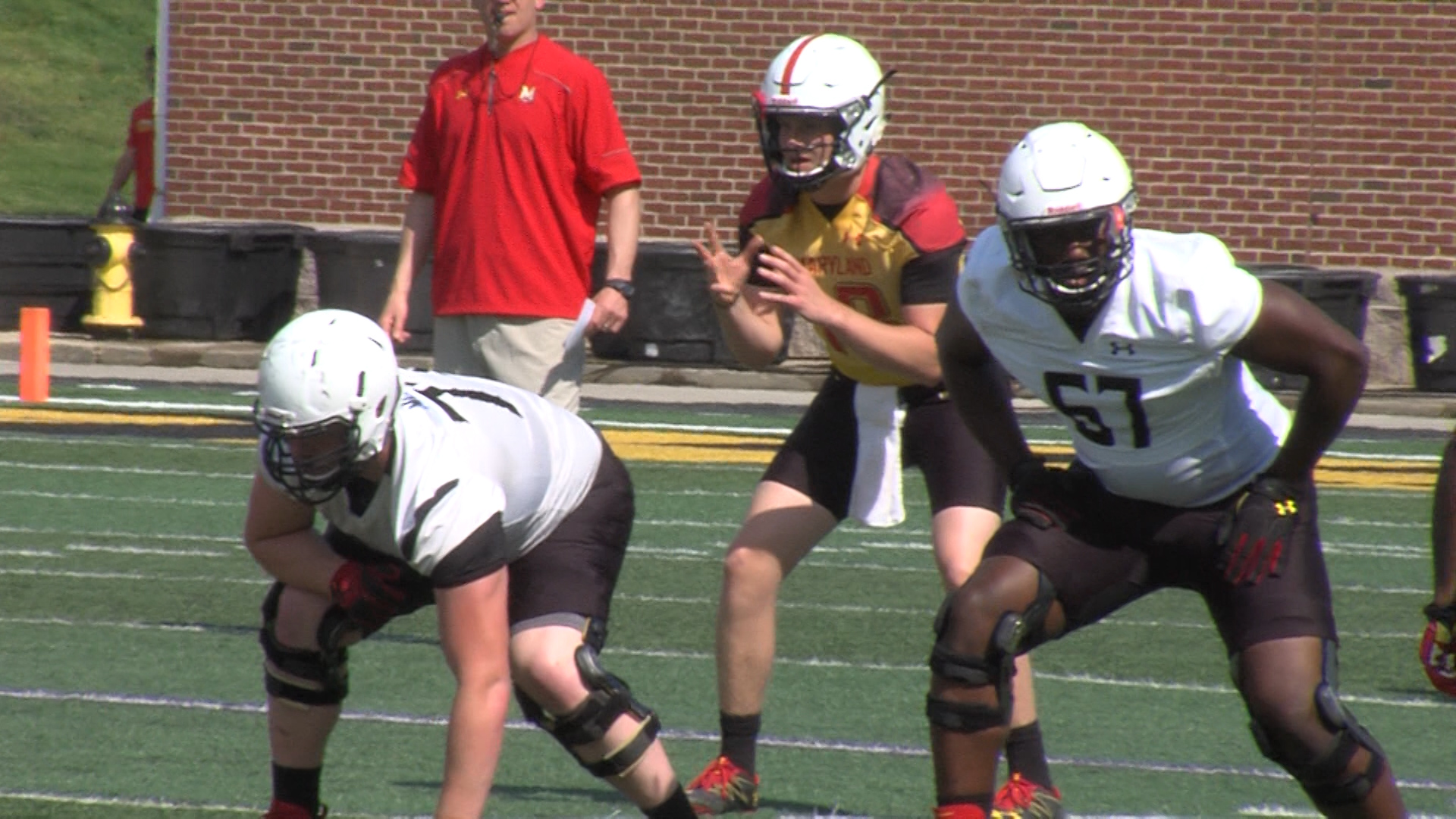 Bortenschlager Will Be Terps Third Starting Quarterback This Season