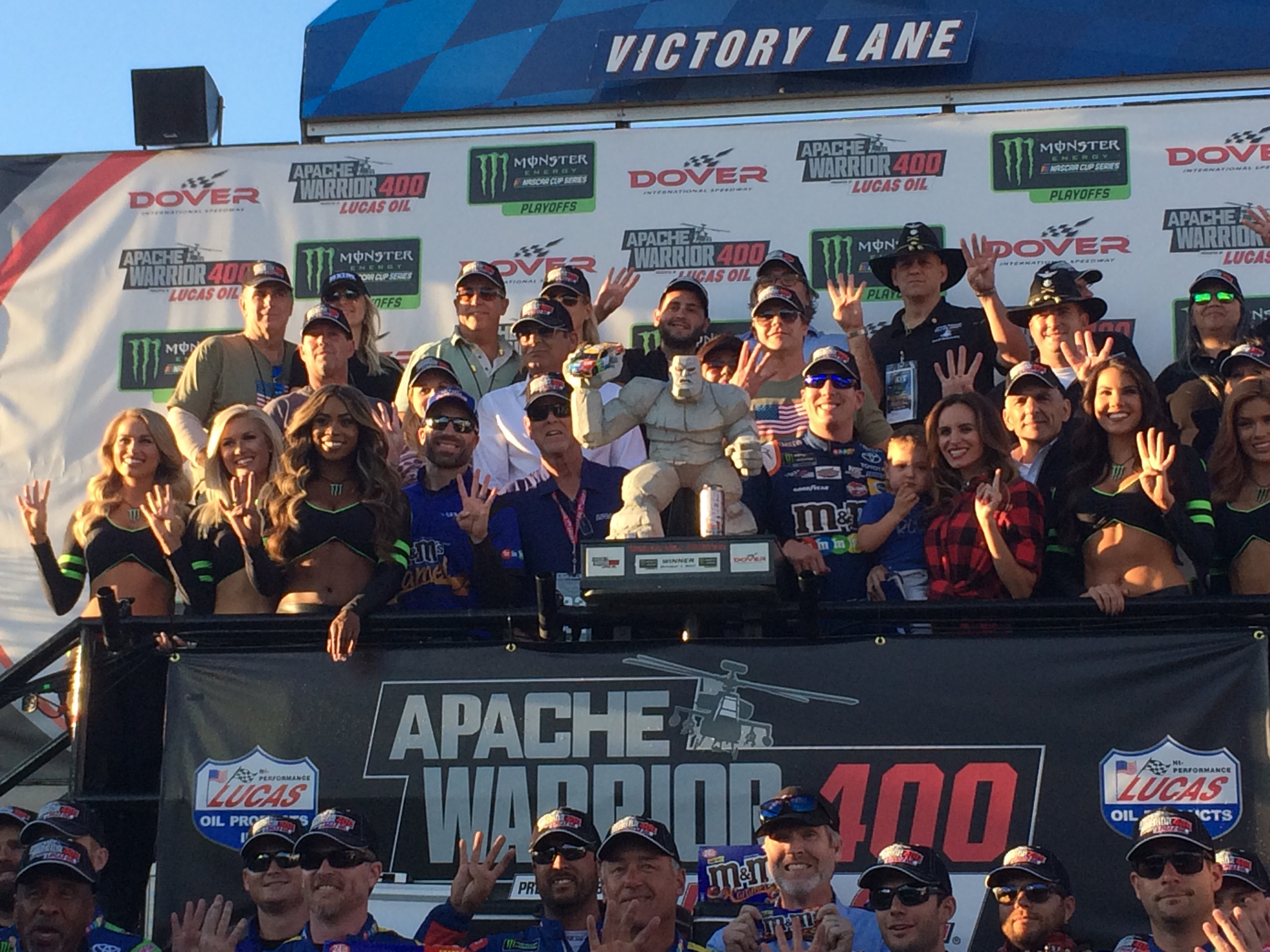 Busch Eyes Second Cup Title After Dover Win