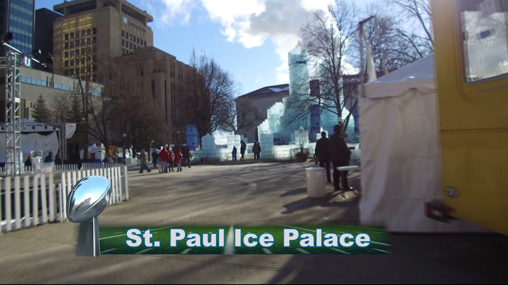 Super Bowl LII: Ice Palace in St. Paul