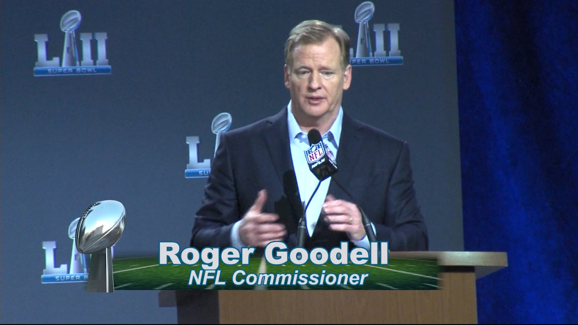 Super Bowl LII: Washington Redskins New QB and Goodell's State of the League